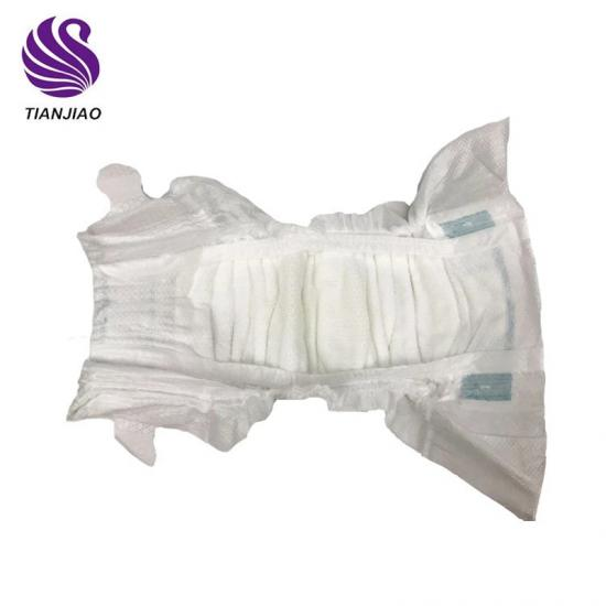 Dry surface disposable diapers